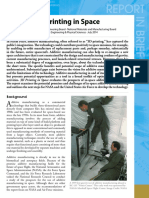 3D Printing Report Brief