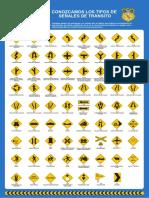 Afiches Señales Preventivas