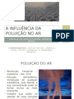 A Influência Da Poluição No Ar