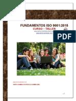 Programa Fundamentos ISO 9001 2015