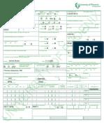CMS1500 Claim Form (Week 9)