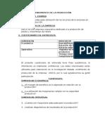 Rendimiento de La Producción Auditoria Operativa