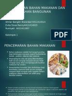 Pencemaran Bahan Makanan Dan Bahan Bangunan