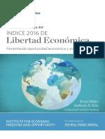 Libertad Economica 2016