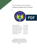 Teknik Sterilisasi Alat Dan Bahan (English Ver)