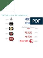 Xerox Brand Evolution