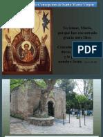 Inmaculada Concepción de Santa María Virgen (1)