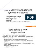 Quality Management System II