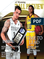 University of Wyoming Basketball Preview 2015