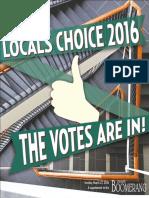 Locals Choice 2016