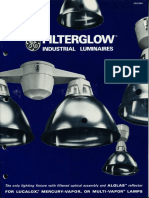 GE Lighting Systems Filterglow & Econoglow Brochure 1966