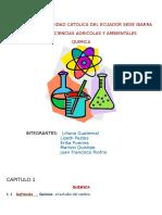 Investigacion de quimica