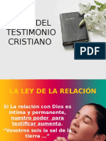 Leyes de La Testificación