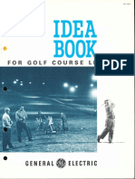 GE Lighting Systems Ideabook Golf Course Lighting Brochure 1962