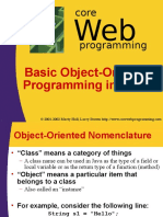 Object Oriented Programming in Java-Basics