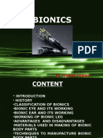 Bionics Ppt