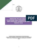Panduan Pelatihan Dan Pendampingan k13 Smp Final 7 April