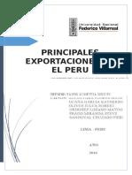 Exportaciones Peru