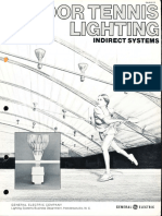 GE Lighting Systems Indoor Tennis Indirect Lighting System Brochure 4-76