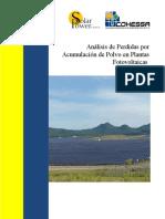Análisis de Perdidas Por Acumulación de Polvo en Plantas Fotovoltaicas