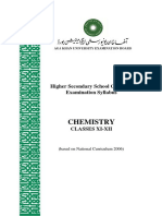 Chemistry _Classes XI-XII_ NC 2006_ Latest Revision June 2012