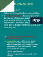 Kuliah 7.Penanaman Bibit.ppt