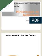 Minimização de Autômatos - Teoria Da Computação