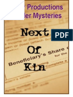 00071  Adult Murder Mystery Game - Next of Kin