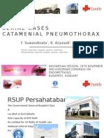 Serial Cases Catamenial Endometriosis