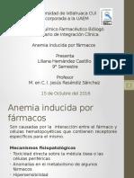 Anemia Inducida Por Farmacos