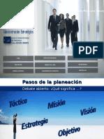 Modelo de plan estratégico personal
