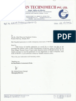 Request Letter for Store Room Dt.03.07.2012