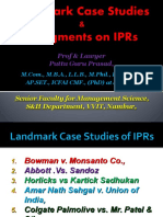 Landmark case studiesof IPRs [Autosaved] 3 (1) (1).ppt