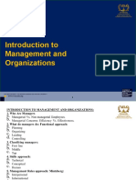 MGT200 Chapter 1 - Introduction to Management and Organizations