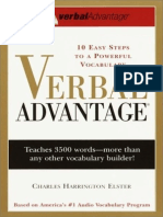 Verbal Advantage_ Ten Easy Step - Elster, Charles Harrington