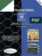 Malla Hexagonal Arm Alco