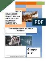 Impacto de La Revolucion Industrial en los Rrhh