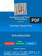 9A - Audiencia de Prisión Preventiva