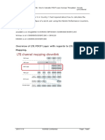 How to Calculate PDCP Layer Average Throughput in LTE
