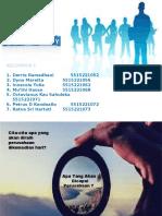 Perumusan Visi Misi - Kelompok I - Manajemen Strategic