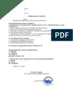 Formular 8 - Oferta Financiara Lucrari