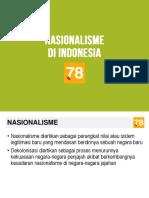 11 Nasionalisme Di Indonesia
