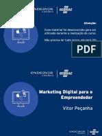 Marketing Digital para o Novo Empreendedor
