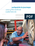 From Touchpoints to Journeys Seeing the World as Customers Do