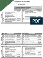 IOEGC 2016 Schedule