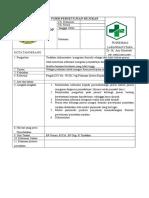 SOP Form Persetujuan Rujukan