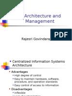 APSI 2014 - 10 - IS Architecture