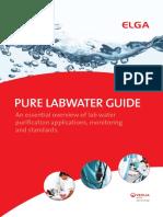 Guía de Agua Pura_ELGA Pure Water Guide v1 0