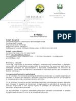 Syllabus Comunicare si dezvoltare personala.doc
