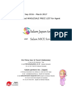 Salam Japan Tour Itinerary and Price List2016